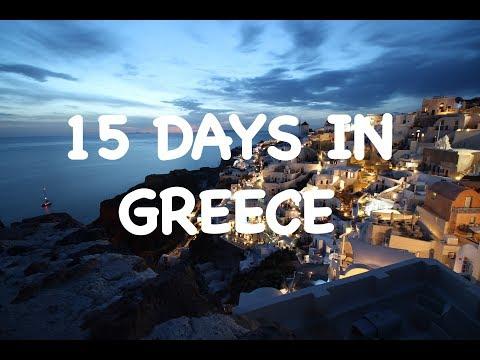 15 Days Itinerary For GREECE | GREECE Trip - Athens, Santorini, Crete, Milos | GREECE Travel Guide