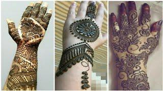 Easy beautiful bridal Mehndi Designs on hands||Indian Wedding New mehndi Design|| New mehndi designs