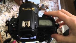 Nikon D5 Auto auto-focus fine tune