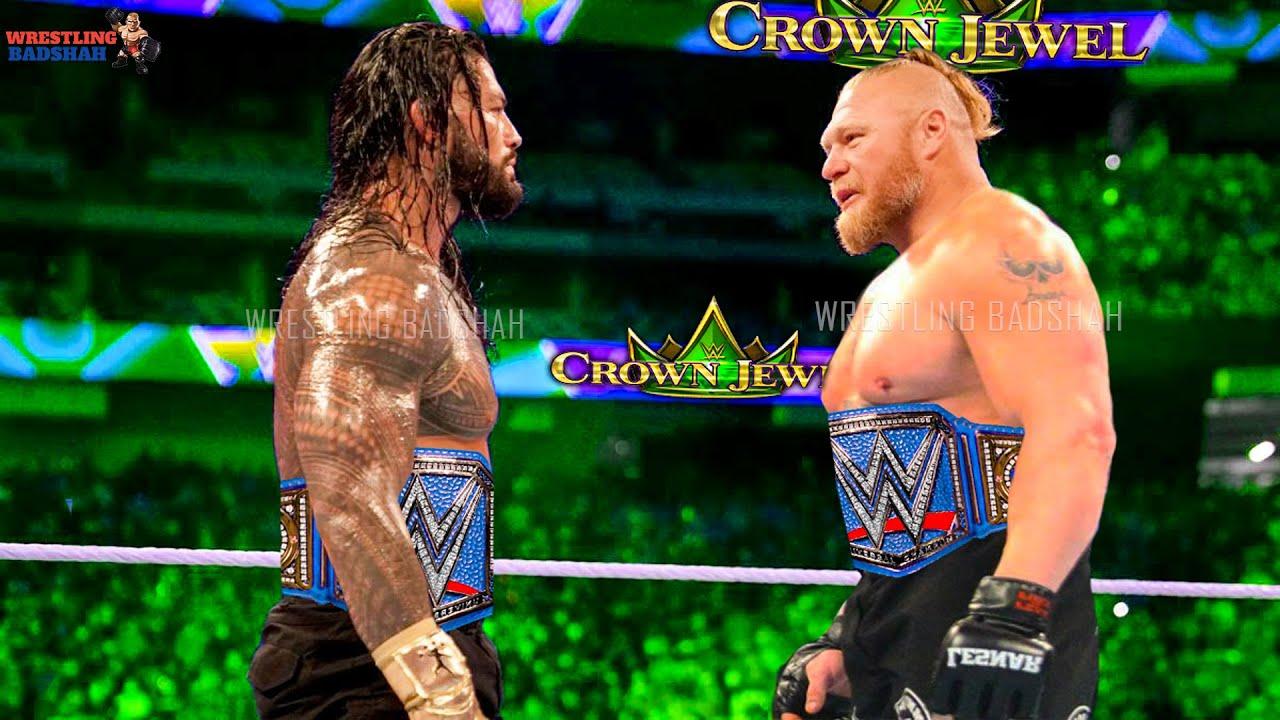 HUGE SPOILERS LEAKED* Roman Reigns vs Brock Lesnar Winner Leaked?! WWE Crown Jewel 2021 Highlights