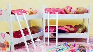 2段ベッド みんなでおとまり ネヌコ ベビーアライブ / Baby Doll Bunk Bed Bedroom Playset : Nenuco , Baby Born , Baby Alive