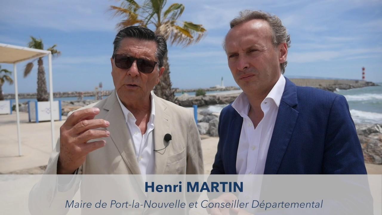 Soutien à Michel PY : Henri MARTIN, maire de Port la Nouvelle et Conseiller départemental