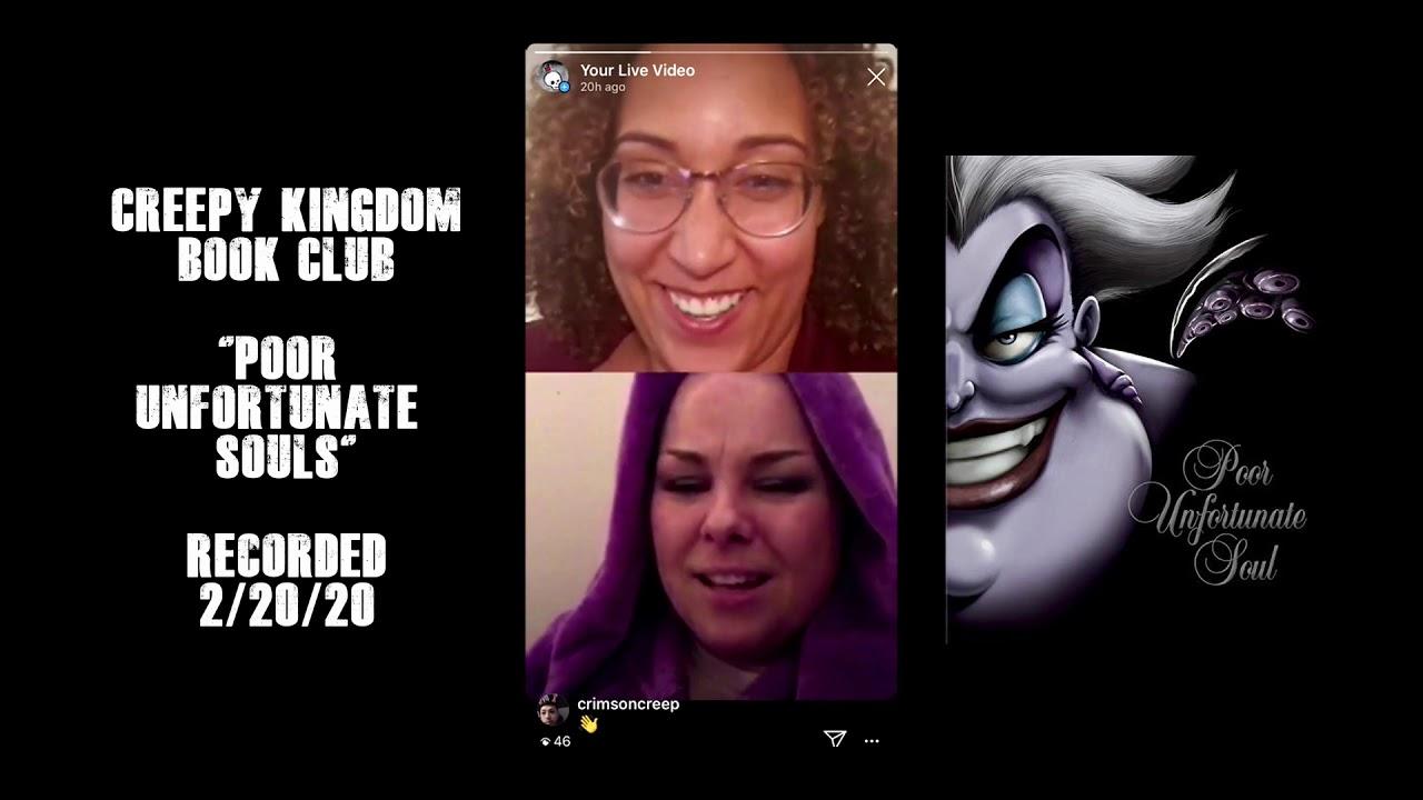 """Poor Unfortunate Souls"" Creepy Kingdom Book Club"