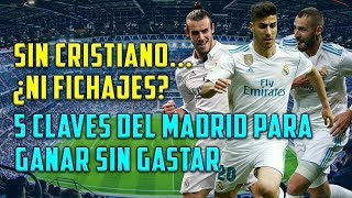 LAS 5 CLAVES PARA SUSTITUIR A CRISTIANO SIN CRACKS   ¿EL REAL MADRID SIN FICHAJES GALÁCTICOS?