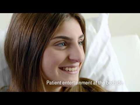 Entertainment for Hospitals van Deutsche Telekom Healthcare Solutions