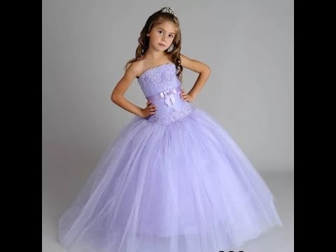 Детские платья. Красивые платья, фото. - YouTube