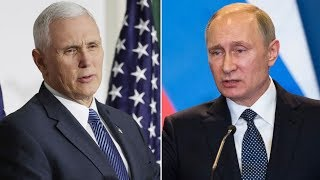 VP Pence Hypocritically & Hilariously Lectures About Human Rights