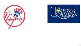 TAMPA BAY RAYS VS NEW YORK YANKEES LIVE STREAM  LIVE REACTION