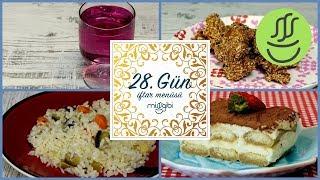 Ramazan 28. Gün İftar Menüsü: Çıtır Tavuk - Sebzeli Pilav - Reyhan Şerbeti - Tiramisu