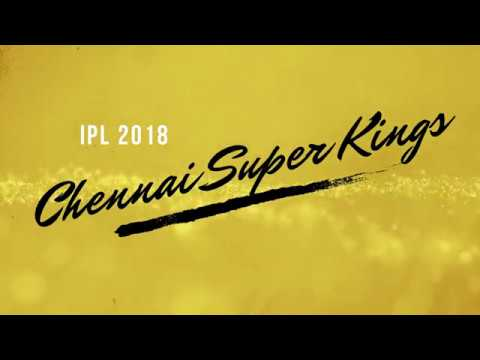 Chennai Super Kings Official IPL 2018 Player List, Team and Full Squad