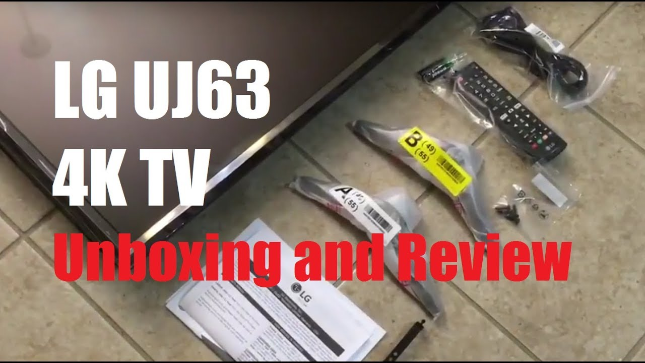 Review And Demo 287 49 Lg 49uj63 4k Uhd Smart Tv Youtube