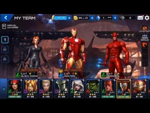 Marvel Future Fight, los héroes del Universo Marvel se dan cita en este Beat 'em up para Android