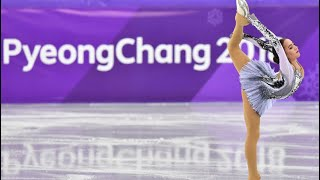 ALINA ZAGITOVA Olympics review SP Black swan комментарии американцев и обзор КП на Nbc