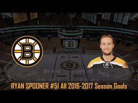 Ryan Spooner - NHL Season 2016/2017 (All Goals)