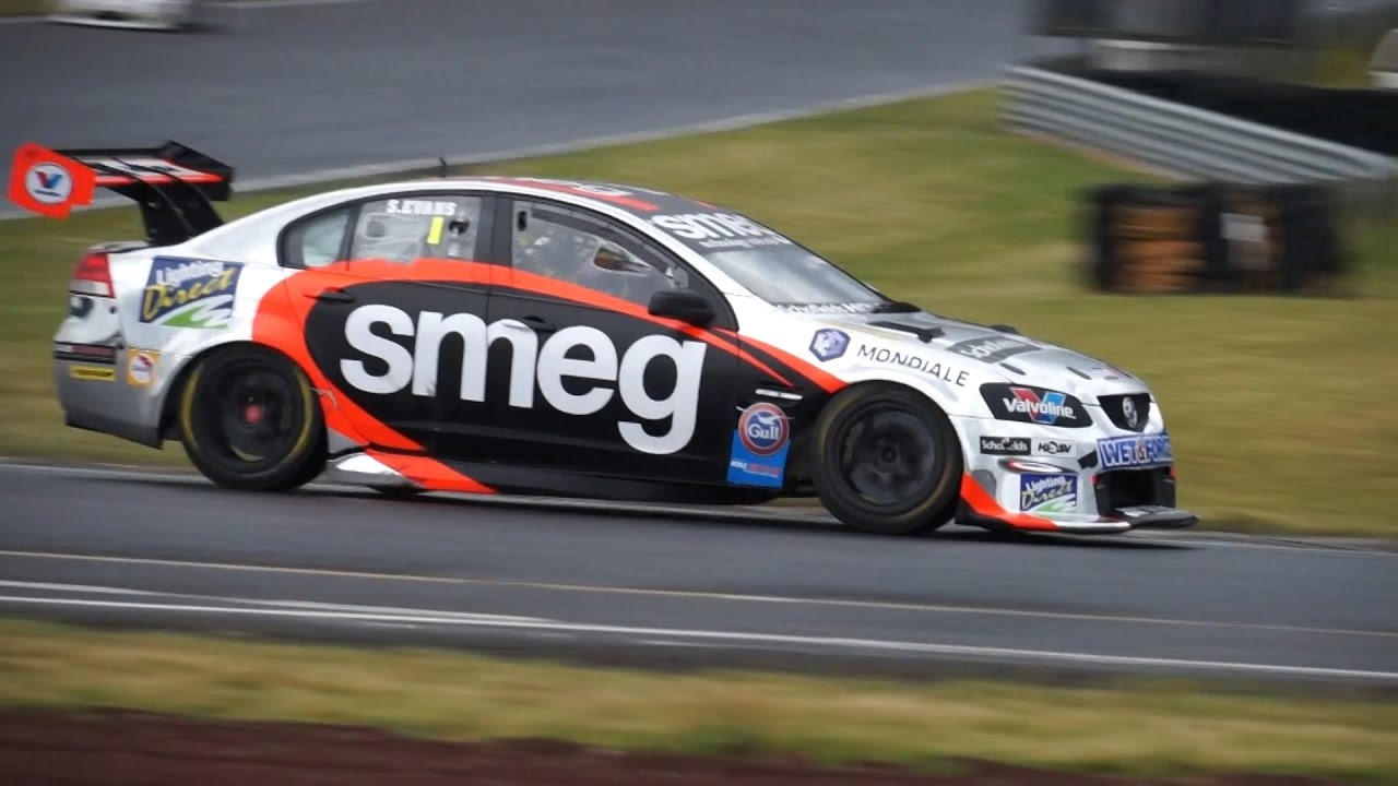 SMEG Racing: Simon Evans - NZ V8 Touring Cars - R2 Taupo 2016 ...