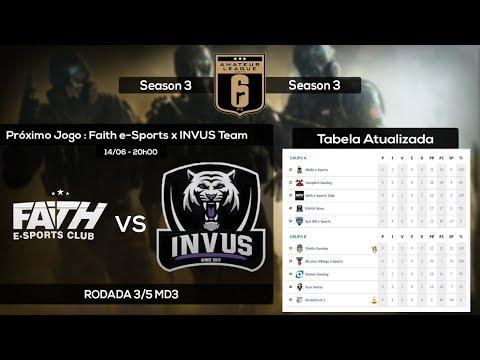 [Amateur League] Faith e-Sports Club x INVUS Team  - Rodada 3