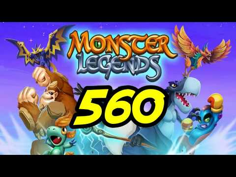"Monster Legends - 560 - ""I'll Pass on the Claw Scrolls"""