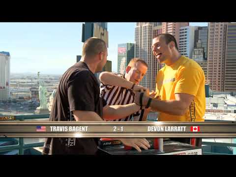 Arm Wars | Armwrestling | Devon Larratt CAN v Travis Bagent USA