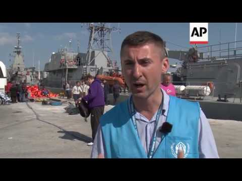 Up to 400 refugees rescued off Lesbos