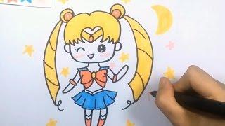 【可乐姐姐学画画】美少女战士 水冰月