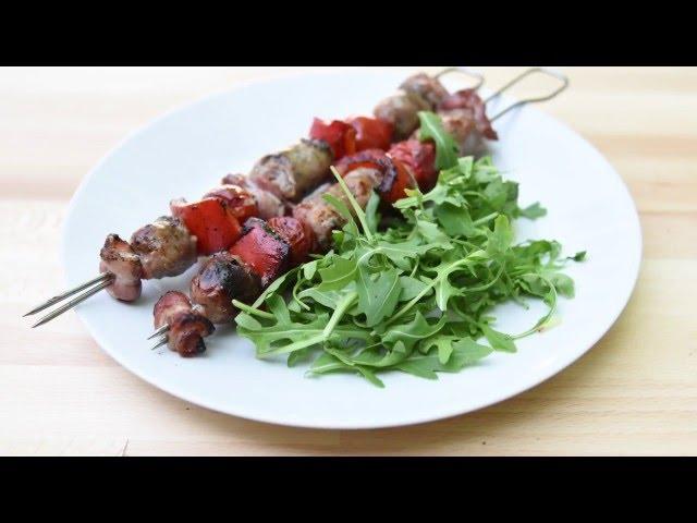 Debbie & Andrews Sausage Kebabs