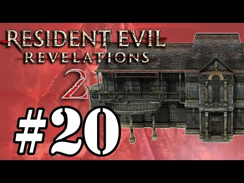 Let's Play: Resident Evil Revelations 2 - Parte 20 - Susto Cabuloso na Mansão