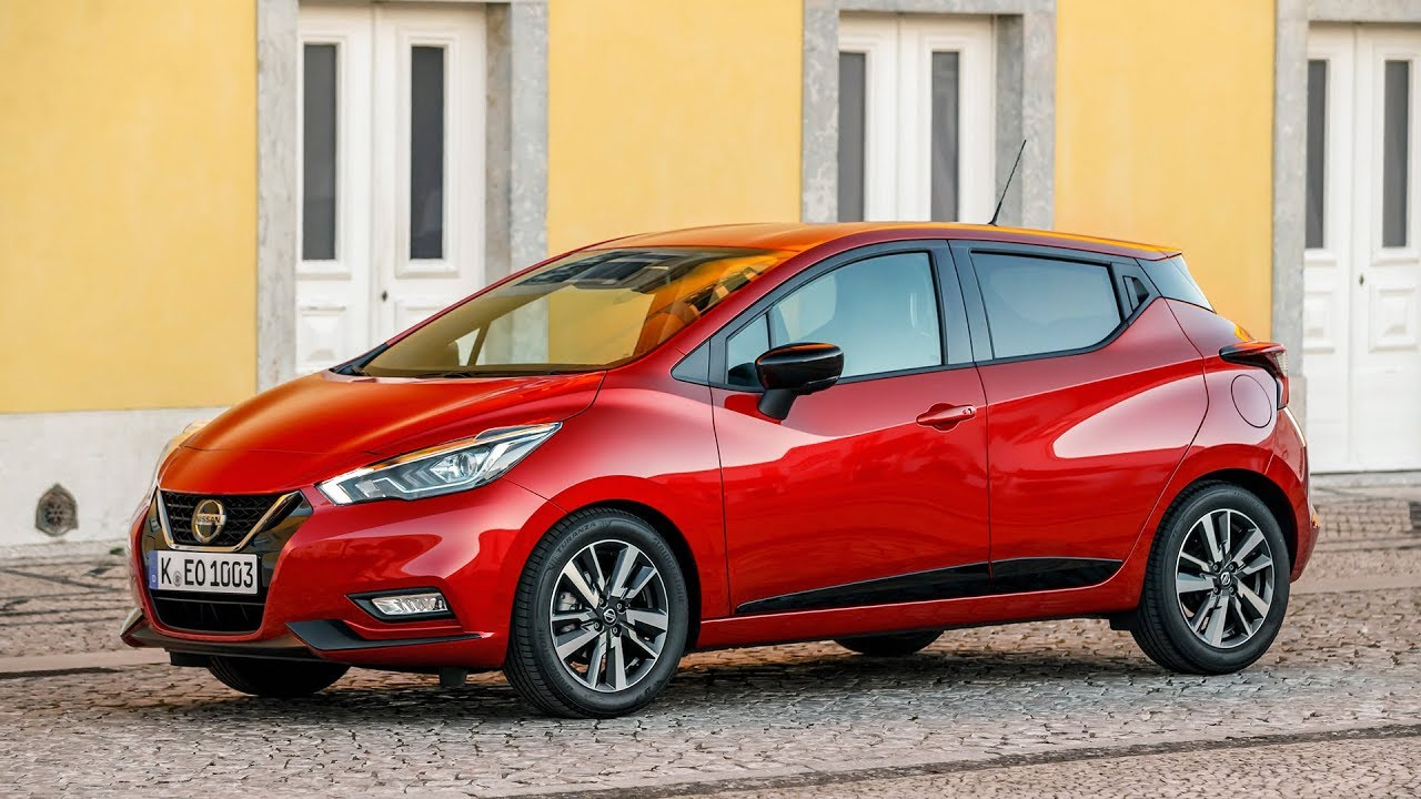 2019 nissan micra red passion exterior interior youtube. Black Bedroom Furniture Sets. Home Design Ideas