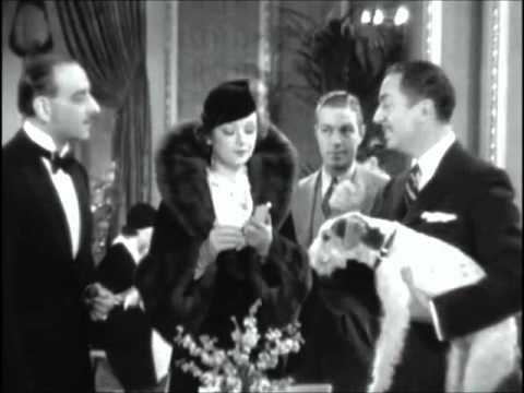William Powell & Myrna Loy Falling ~ The Thin Man