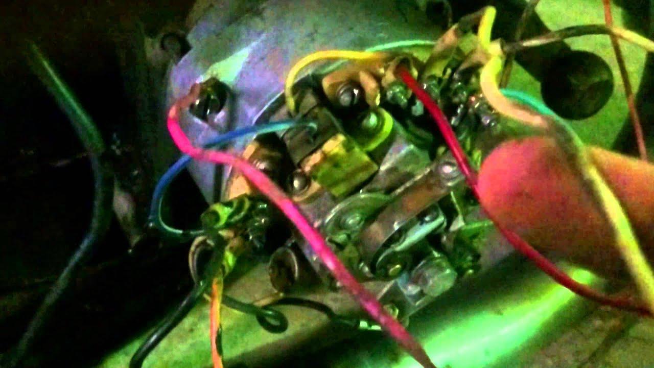 схема зарядки на акб на иж 56