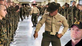 Making Marines at Parris Island (Part 1/2) - US Marine Recruit Training (Marine Reacts)