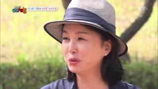 """우리동네 예체능 - 김미숙, 배구선수 출신의 위력 """"최여진 촬영중 뺨맞고 크게 놀라"""". 20160426"""