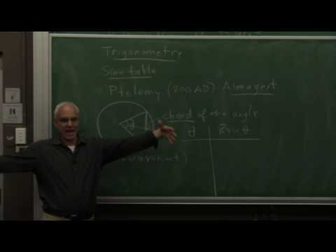 MathHistory32: Astronomy and trigonometry in India