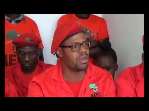 Namibia Economic Freedom Fighters distance themselves from South Africa's EFF