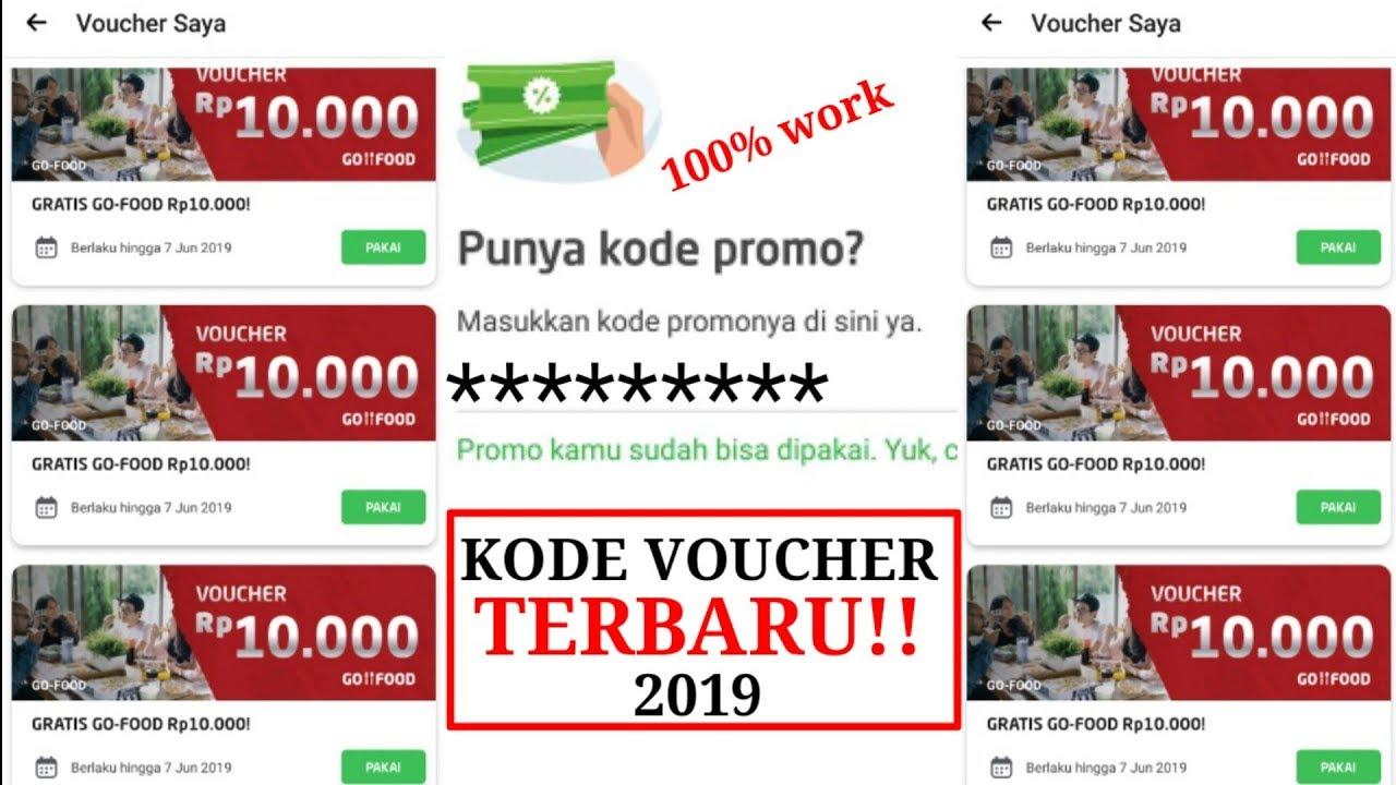 Kode Voucher Gojek Go Food Terbaru 2019 Makan Makan Youtube