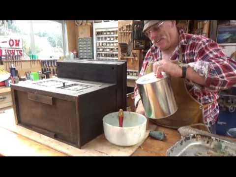Antique Furniture Restoration how to strip prepare and stain