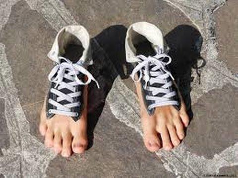 Foot Shaped Shoes Nike