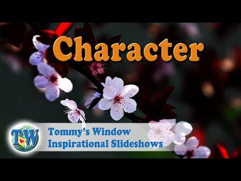 af3d754e3d771 Character - Tommy s Window Inspirational Slideshow - YouTube
