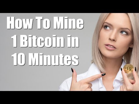 How To Mine 1 Bitcoin In 10 Minutes - Blockchain BTC Miner Pro