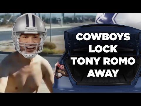 Cowboys Lock Tony Romo Away