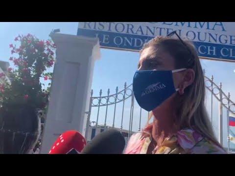 """Incidente a Capri, la titolare del lido: """"Pochi metri ed era una tragedia"""""""