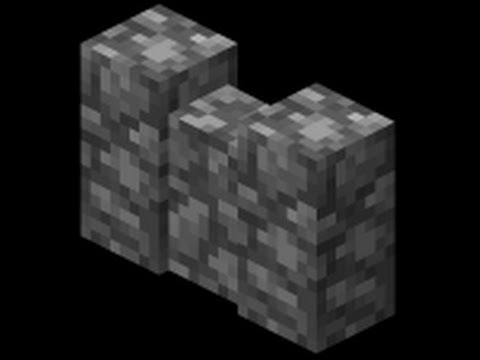 how to build a cobblestone wall minecraft