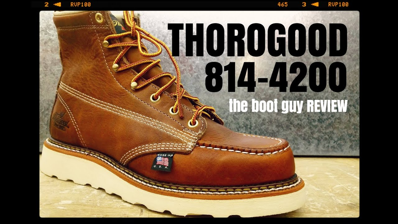 5aad8e3d5fd Thorogood 814-4200 |The Boot Guy Review