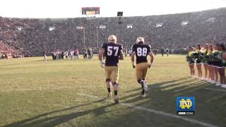 2012 Notre Dame Football Senior Ceremony