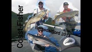 Romsdalfjord 2018 // Schleppen auf Dorsch/Speedpilken auf Seelachs