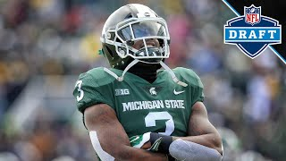 2019 NFL Draft: Michigan State RB LJ Scott Highlights | B1G Football