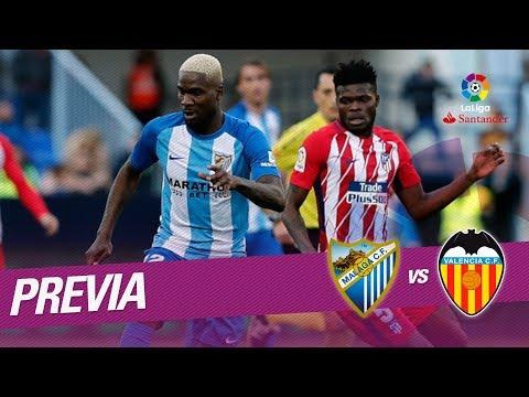 Previa Málaga CF vs Valencia CF