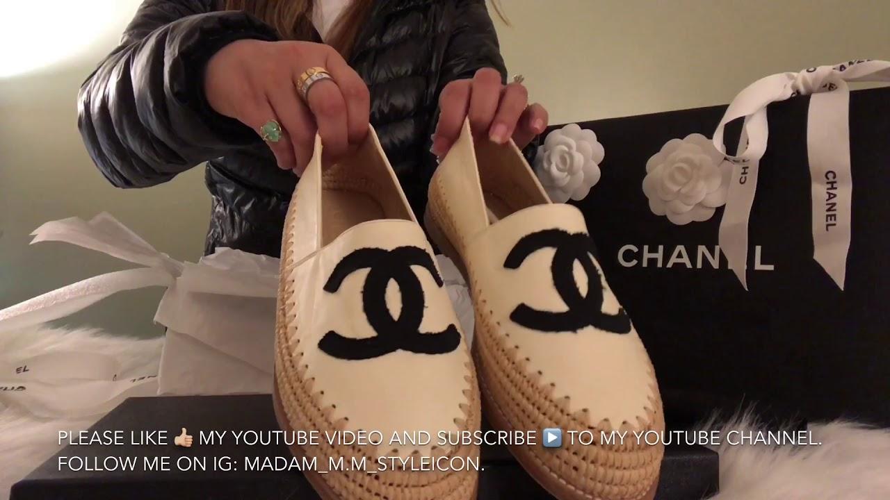 13: CHANEL Shoes Unboxing | Espadrilles