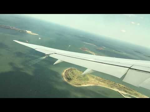 Japan Airlines B787-9 | Pushback, Taxi and Takeoff from Boston