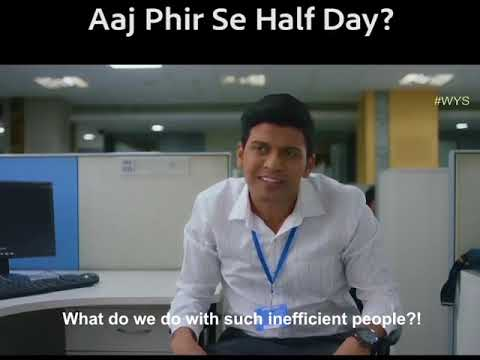 Perfect Reply by efficient employee to over time employee..