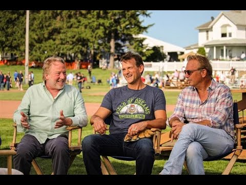 Kevin Costner ,Timothy Busfield, Dwier Brown at Field of Dreams 25th Anniversary